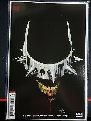 The Batman Who Laughs #1 - Greg Capullo Variant Cover NM condition