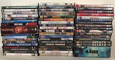 50 DVD Lot - COMEDY / DRAMA / TV SERIES / SCI-FI / HORROR assorted titles