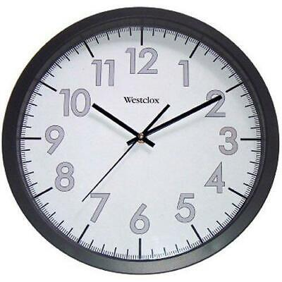 "Nyl Holdings Llc/ Westclox 14"" RND Office Clock quot Round"