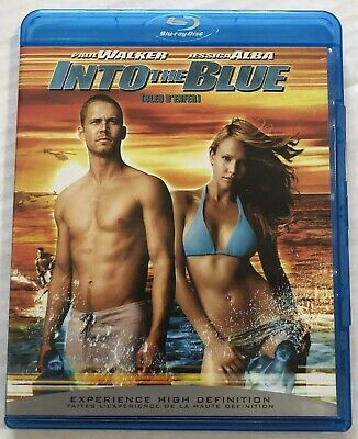 Into The Blue (Bluray, 2005) Canadian