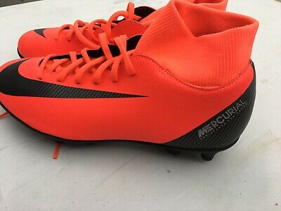 ee5fdce377c Nike Men s Superfly 6 CR7 Club FG MG Soccer Cleats Red AJ3545-600 Size 7