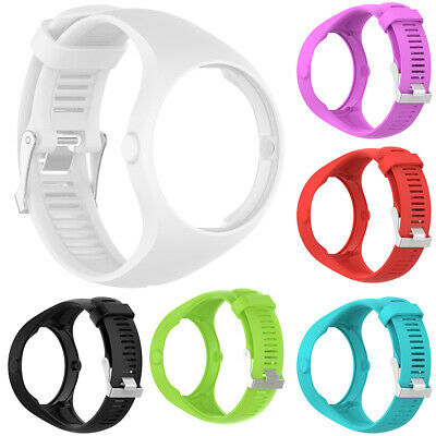 Solid Color Silicone Smart Bracelet Watch Strap Wrist Band for Polar M200 Trendy