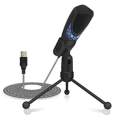 TONOR Gaming Microphone PC USB, Computer Mic Plug & Play for Gaming/Chatting/Sky