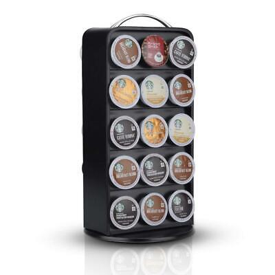 RECAPS Coffee Capsules Pods Holder Carousel 360 Degree Revolving Compatible with