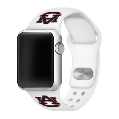 Affinity Bands Auburn Tigers Silicone Sport Band Compatible with Apple Watches -