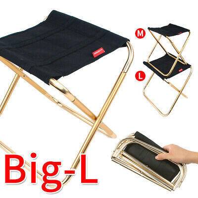 Portable Folding Chair Outdoor Camping Fishing Picnic Beach BBQ Stools Mini Seat