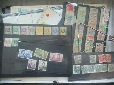 ESTATE: World in box unchecked unsorted as received heaps auction lots   (b413)