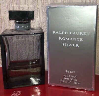 Enthaarung & Rasur Romance Silver Ralph Lauren 100 Ml After Shave Lotion Neu In Folie Original !!!