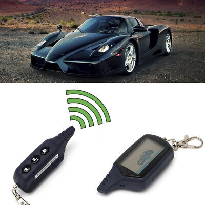 Car 2-Way Alarm System Key Case Cover for StarLine A91 LCD Remote Controller 4H