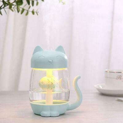 Ultrasonic Cool Mist Humidifier 3 in 1 Aromatherapy Diffusers USB Air Fresher