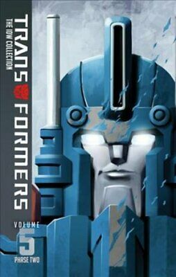 Transformers Idw Collection Phase Two Volume 5 by Andrew Griffith 9781631408441