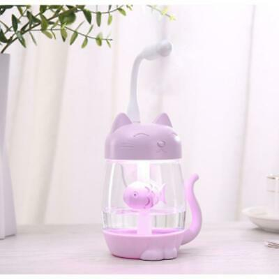 Ultrasonic Cool Mist Humidifier 3in1 Aromatherapy Diffusers USB Car Air Fresher