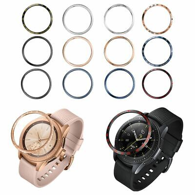 Per Samsung Galaxy Watch 46mm / 42mm /S3 Acciaio Bezel Styling Rings Cover Case