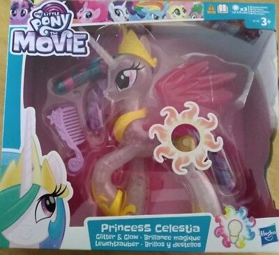 New And Sealed * My Little Pony The Movie Glitter And Glow Princess Celestia