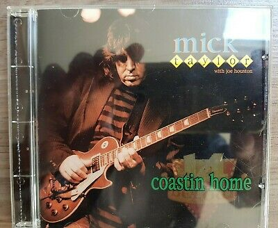 Mick Taylor - Coastin' Home. Rare live CD from legendary ex-Rolling Stone.