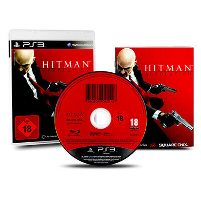 Ps3 - Playstation 3 Spiel Hitman Absolution in Ovp mit Anleitung (USK 18)