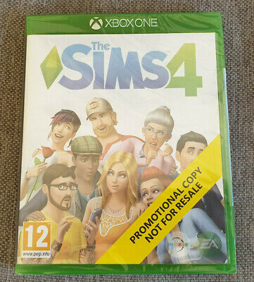 Microsoft Xbox One Game The Sims 4 New Sealed Promo Version