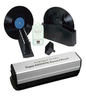Knosti Disco Antistat Record Cleaning Machine + Ex Static Record Cleaning Brush