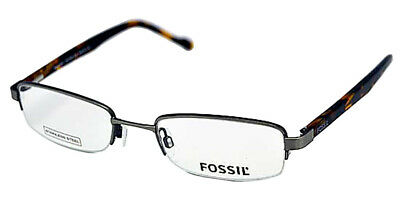 Fossil Brille Brillengestell PEABODY SILVER OF1202040 UVP:119,-€