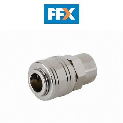 Silverline 238184 Euro Durite Air Filetage Femelle Connecteur Rapide 0.6cm BSP