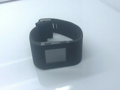 Fitbit Surge GPS Heart Tracking Fitness Smartwatch - LARGE + 2x USB charging cab