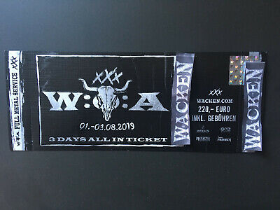 Wacken Festival 2019 Ticket 3 Days All In -SOLD OUT-