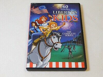 Libertys Kids - The Complete Series (DVD, 2013, 4-Disc Set) 40 Episodes TV Y7