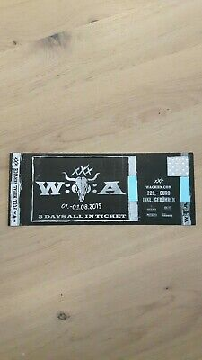 1x Wacken 3 Days All In Ticket incl T-Shirt L