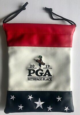 2019 Pga Championship golf valuables pouch tote bethpage black new york