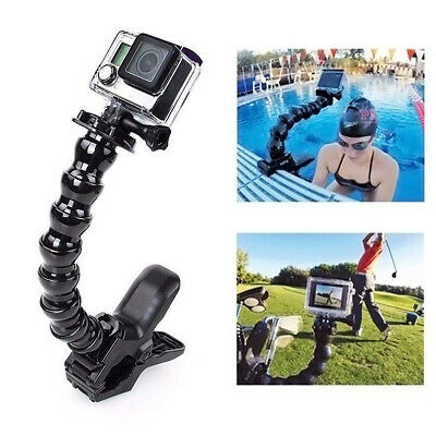 Action Sports Cameras Jaws Flex Clamp Mount For GoPro HERO 7/6/5/4/3+/3/(2018)