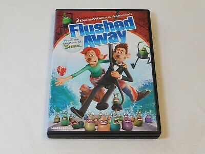 FLUSHED AWAY (DVD, 2007, Widescreen) NEW - $4.96 | PicClick