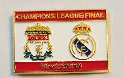 Liverpool vs. Real Madrid Champions League Final Matchday Badge 2018 UCL