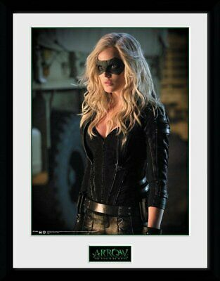 Merchandising Arrow - Black Canary (Stampa In Cornice 30X40 Cm)