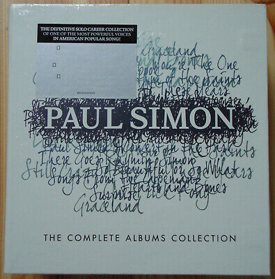 Paul Simon Complete Albums Collection 15 Disc CD Box 1965-2011 Legacy NEW SEALED