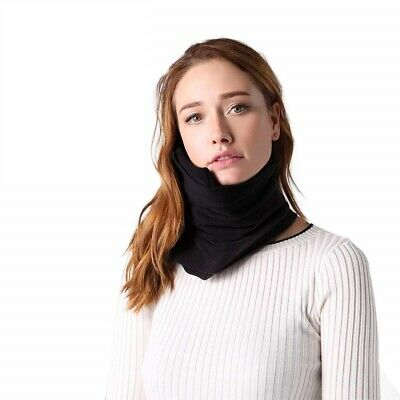 Scarf Style Super Memory Foam Neck Support Travel Pillow Lightweight Portable