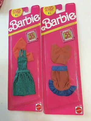 1990 Barbie fashion finds nip #5304 and #2723 Mattel not opened