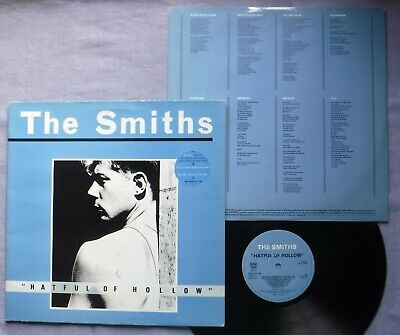 """The Smiths """"Hatful Of Hollow"""" LP Rough Trade ROUGH 76 1984 Import UK GF Inner VG"""