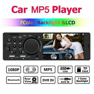 4.1 Inch TFT 1 Din MP5 Player Car Radio Bluetooth Connecting Rear View Camera