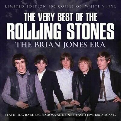 The Rolling Stones - The Very Best Of / The Brian Jones Era LTD EDITION WHITE