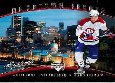2006-07 Upper Deck Hometown Heroes Guillaume Latendresse #HH69