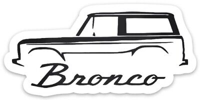 MAGNET Vintage Early Classic Ford Bronco MAGNET for Toolbox or Fridge