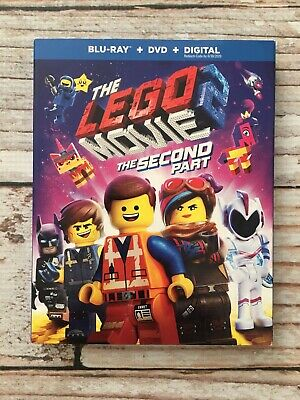 The Lego Movie 2 - The Second Part (Blu-ray/DVD, 2019) No Digital