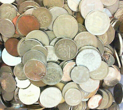 One Pound of Coins from Around the World FREE SHIPPING!
