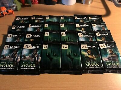 **MYTHIC EDITION** War of the Spark Planeswalker Pack Lottery #1 FACTORY SEALED