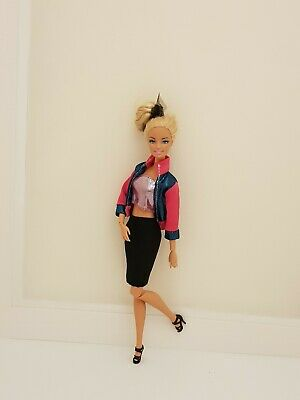 New complete quality jacket skirt outfit clothes for Barbie dolldress shoes CC11