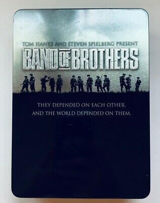 Band of Brothers DVD 6-Disc Set in Collectible Metal Tin HBO Complete Series