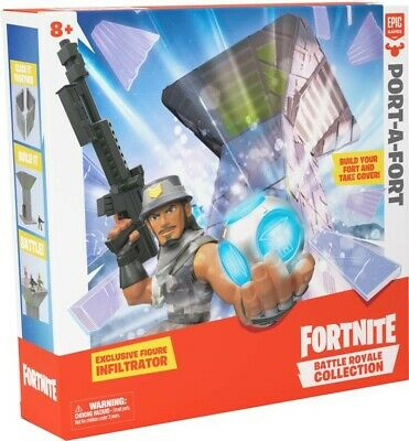 NEW Fortnite S1 Port A Fort Display Set from Mr Toys