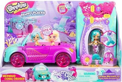 NEW Happy Places Shopkins S6 Mermaid Convertible from Mr Toys