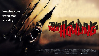 16mm Feature Film: THE HOWLING (1981) Horror - UNCUT, THEATRICAL VERSION