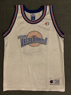 1439754138b8 Vintage Champion 90s Space Jam Lola Bunny Tune Squad Jersey Size Small S  Kids L